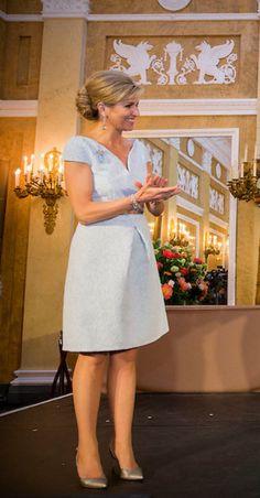 Appeltjes van Oranje 2016 Nassau, Holland, Queen Of Netherlands, Queen Maxima, Fabulous Dresses, Royal Fashion, Her Style, Dress Collection, White Dress