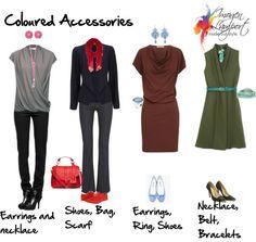 Coloured accessories