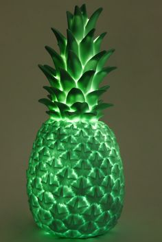 Pineapple Light Mint Green   The KID Who
