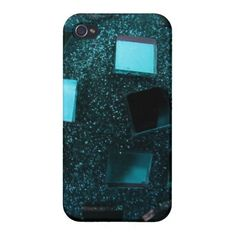 Turquoise All That Glitters Case For iPhone 4
