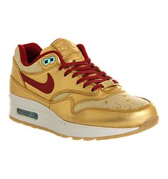 Nike Air Max 1 (l) Metallic Gold Black History Month - Hers trainers