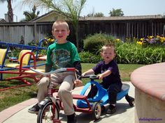 Ayden and Cadence: Cousins on a Roll. May 2009. Today is a great day to shorten our list of things that make us fretful.Halloween is behind us, which means New Year's is about three weeks aw…