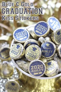 Personalize your party favors with our Graduation Kiss Stickers! Choose your school colors, add your name & graduation year. Graduation Food, Graduation Stickers, Personalized Graduation Gifts, Graduation Party Supplies, Graduation Year, Graduation Cap Decoration, Graduation Celebration, Graduation Invitations, Get The Party Started