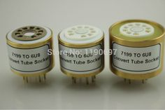 >> Click to Buy << 1PC 7199(Top) TO 6U8 (Bottom) 9Pins TO 9Pins Tube DIY Audio Vacuum Tube Adapter Socket Converter Free Shipping #Affiliate