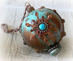 Steampunk Christmas bauble  Steampunk by CarmenHandCrafts on Etsy
