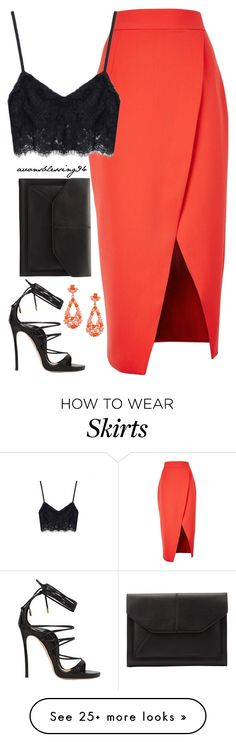 """Feeling Lovely"" by avonsblessing94 on Polyvore featuring C/MEO COLLECTIVE, Dsquared2, John Lewis and Kenneth Jay Lane"
