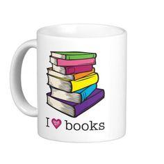 Book Mugs, Book Coffee Mugs, Steins & Mug Designs