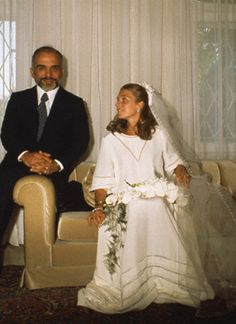 """King Hussein of Jordan married Elizabeth """"Lisa"""" Halaby on June 15th, 1978, in Amman, his fourth wife and Queen of Jordan. She renounced her USA citizenship. She accepted Islam as it was her husbands religion, becoming known as Noor Al-Hussein which means Light of Hussein The Constitution of Jordan did not require her to accept Islam, but if she had not, her descendants would not have had succession rights. She is now known as Queen Noor, queen dowager of Jordan, upon her husband's death in…"""