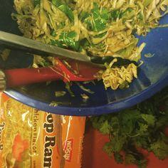 Crazy Ramen Slaw | adam's cooking dinner