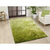 Found it at Wayfair - Amore Shag Lime Area Rug