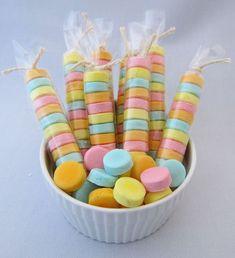 Recipe for Homemade Sweet Tarts - I LOVE Sweet Tarts!  I hope these are good.