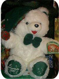 1990 Walmart Snowflake Teddy