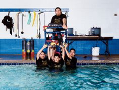 A WIRED Classic: How four underdogs from the mean streets of Phoenix took on the best from M.I.T. in the national underwater bot championship.