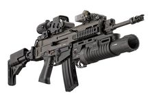gp 25 underbarrel grenade launcher based on ak74 military rh pinterest com Kriss Vector Carbine Kriss Vector .45