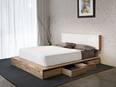 Bedroom storage: making the most of the under-bed space / Core77