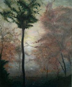 [안개숲] - 20F  화창한 가을, 화담숲에 안개가 자욱히 내려앉았다. 하늘은 맑고 숲 안은 안개로 가득한 신비로운 숲의 한때