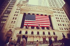 New York Stock Exchange...so much smaller on the outside than I imagined it was.