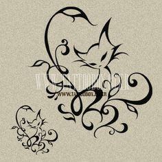 Temporary Tattoo - CAT -...