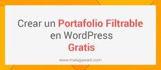 Cómo crear un portafolio en WordPress sin complicaciones. En este #post voy a explicar cómo crear un portafolio en #WordPress gratis. Existen muchas formas de hacerlo y según el tipo de portafolio que quieres hacer puedes usar un método u otro.