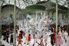 Las mejores imágenes del espectacular desfile de Chanel en la Semana de la Moda de Paris