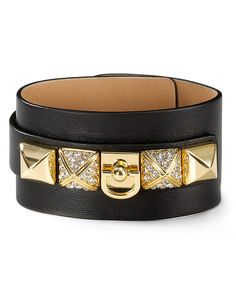 Juicy Couture B-Wild Leather Cuff