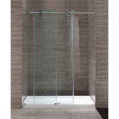 Ove Decors 60'' Glass Sliding Door Shower Enclosure