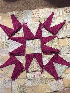 """""""En Provence"""" - Bonnie Hunter Mystery Quilt 2016 - Clue #2 Completed"""