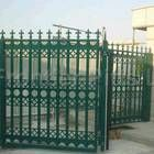 Double Leaf Bi-folding Speed Gates with special decorative infill