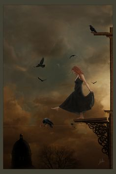 """""""Falling"""" , made by: Greenfeed  - (Tightrope)"""