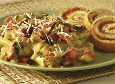MY FAVORITE:Sausage and Artichoke Bolognese With Sun-Dried Tomato Bread Recipe from #PublixAprons