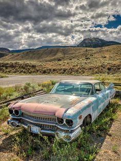 Abandoned car. Source Facebook.com
