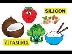 Vitaminix - Kids Learning Videos About Food & Health - Silicon