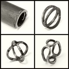 Double Bent Band - iron   Flickr - Photo Sharing!