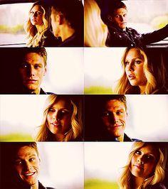 The Vampire Diaries | Rebekah & Matt