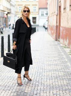 BUSINESS IN BLACK - Style magazine | Škola stylu BACKSTAGE