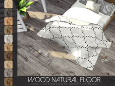 The Sims Resource: Wood Natural Floor by Rirann • Sims 4 Downloads
