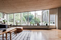 On the market: Arne Branzell-designed midcentury property in Gothenburg, Sweden - WowHaus Living Etc, Home And Living, Living Room Inspiration, Interior Inspiration, 1960s House, Interior Architecture, Interior Design, Small House Decorating, Living Room With Fireplace