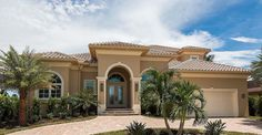 Two-Story Mediterranean House Plan - 66360WE - 01