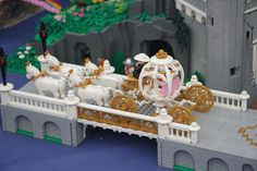Once Upon a time... The Sleeping Beauty Castle (Details) #Lego #LegoModular…