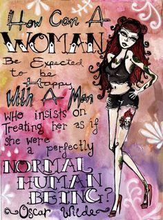 Rockabilly girl art  Tattoo woman quote print by KristaNoelle, $12.00