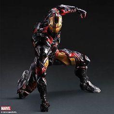 Iron Man Play Arts Kai Action Figure - Iron Man Variant