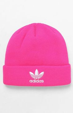 d44ce647a63e adidas provides an instant classic beanie for your laidback style with the  Trefoil Knit Beanie.
