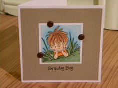 Just hanging out watching the grass in the wind. by mayodino - Cards and Paper Crafts at Splitcoaststampers