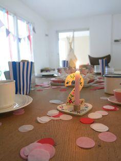 2. Kindergeburtstag feiern, Geburtstagsdekoration - mehr bei Jules & Pi