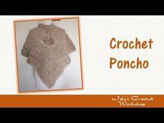 "Learn How To Crochet ""The Desert Sands"" Poncho TUTORIAL #368 Intermediate crochet - YouTube"