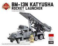 Brickmania - BM-13N Katyusha - Rocket Launcher, $170.00 (http://www.brickmania.com/bm-13n-katyusha-rocket-launcher/)