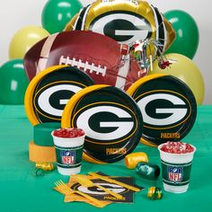 green bay packers party favors  #UltimateTailgate #Fanatics