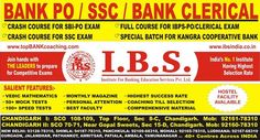 Best Bank PO Coaching Institute in Chandigarh  IBS Coaching Institute - ibsindia.co.in/bank-po-coaching