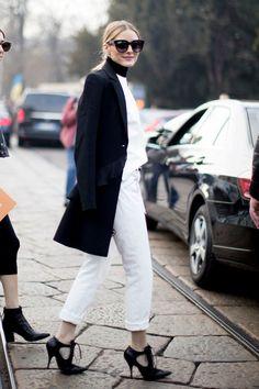 Olivia Palermo at Milan Fashion Week Fall 2017
