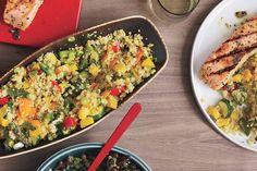 Spring Vegetable and Quinoa Pilaf recipe